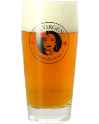 Beer glasses - La Virgen Glass - 33 cl