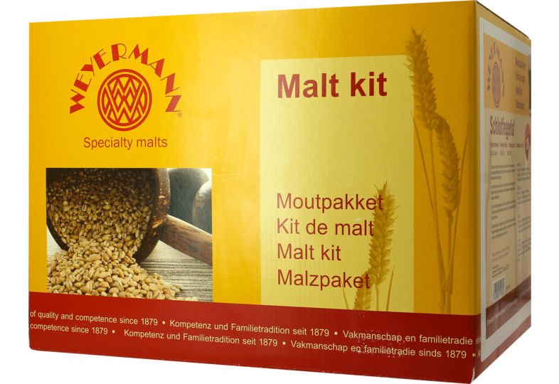 Moutpakket - Mout kit WEYERMANN Schlotfegerla