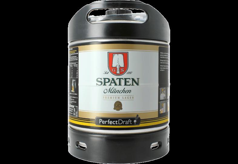Bier Tapvatjes - Spaten Münchner Hell PerfectDraft Vat 6L