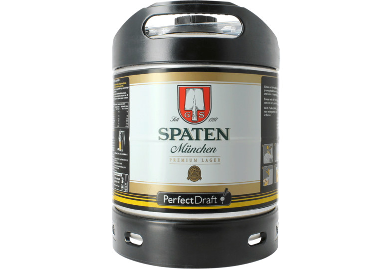 Tapvaten - Spaten Münchner Hell PerfectDraft Vat 6L