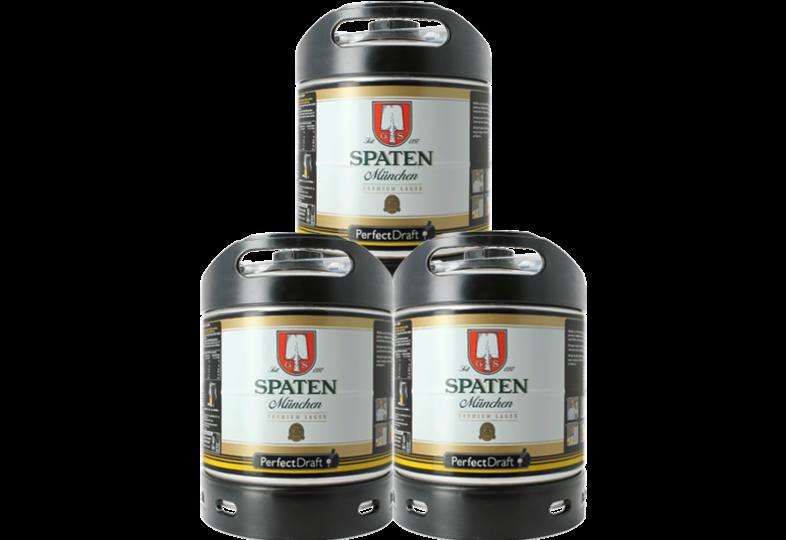 Fûts de bière - Pack 3 fûts 6L Spaten