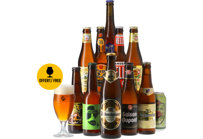 Saveur Bière gift box - The Platinum Blonde Collection