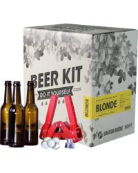 Kit de bière tout grain - Kit de Elaboración de Cerveza Blond + Kit de embotellado
