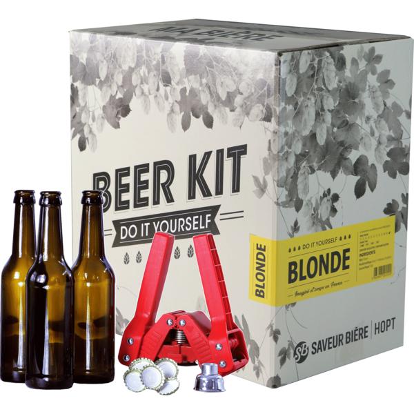 Beer Kit complet, je brasse une blonde