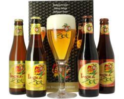 Gift box with beer and glass - Giftpack Brugse Zot
