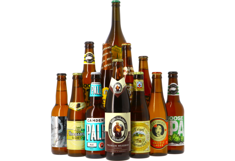 Bierpakketten - Best verkochte speciaalbieren bierpakket - 12x33cl