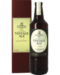 Bottled beer - Fuller's Vintage Ale 2016