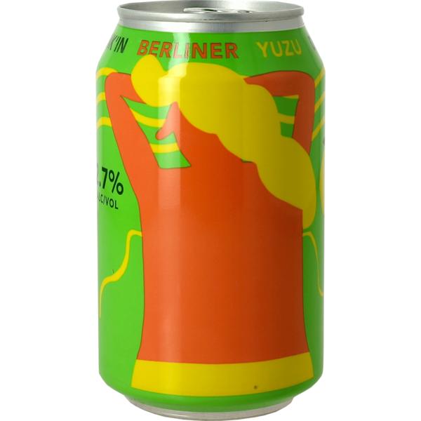 Mikkeller Drink'In Yuzu Berliner - Canette