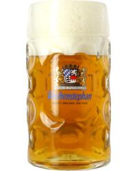 Biergläser - Glas Weihenstephaner 1 liter