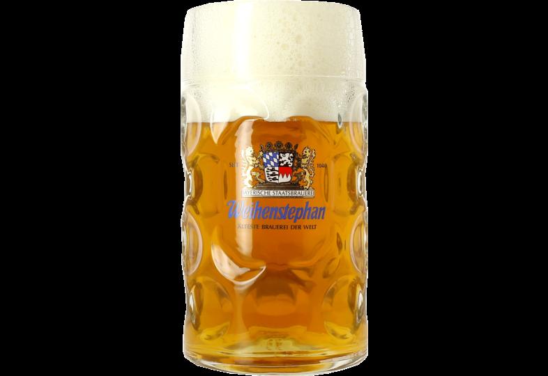 Verres à bière - Chope Weihenstephaner 1 litre
