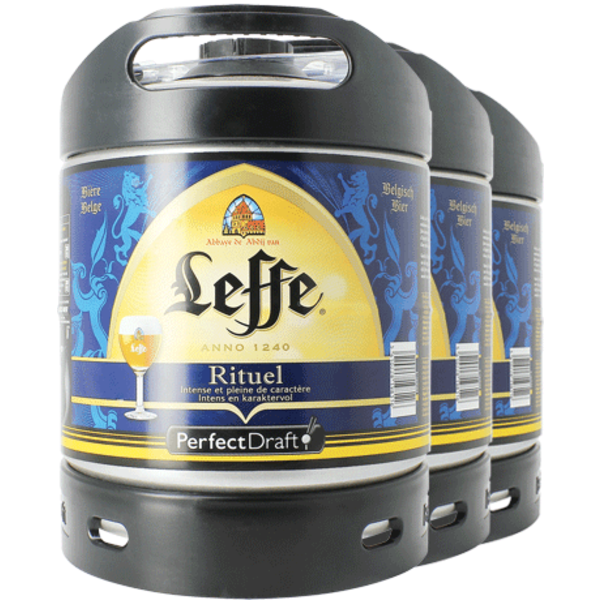 Pack 3 Tapvat 6L Leffe Rituel - Perfect Draft