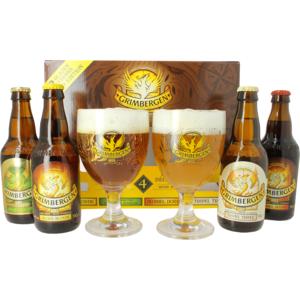 Cofanetto Grimbergen Discovery - 4 birre + 2 bicchieri