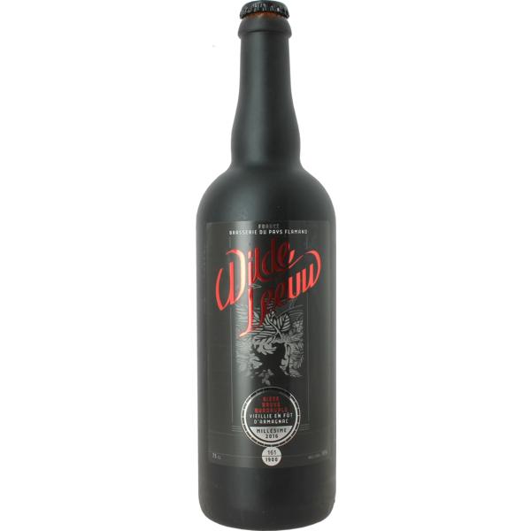 Wilde Leeuw - Bière Brune Quadruple vieillie en fût d'Armagnac