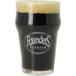 Verres à bière - Verre Founders plat - 25 cl