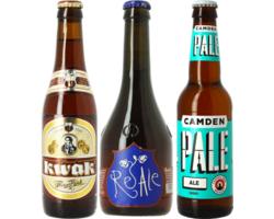 Cadeaus en accessoires - Pack Kwak, Camden Pale Ale, Birra Del Borgo ReAle