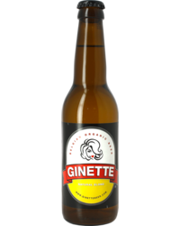Flaschen Bier - Ginette Natural Blonde Bio