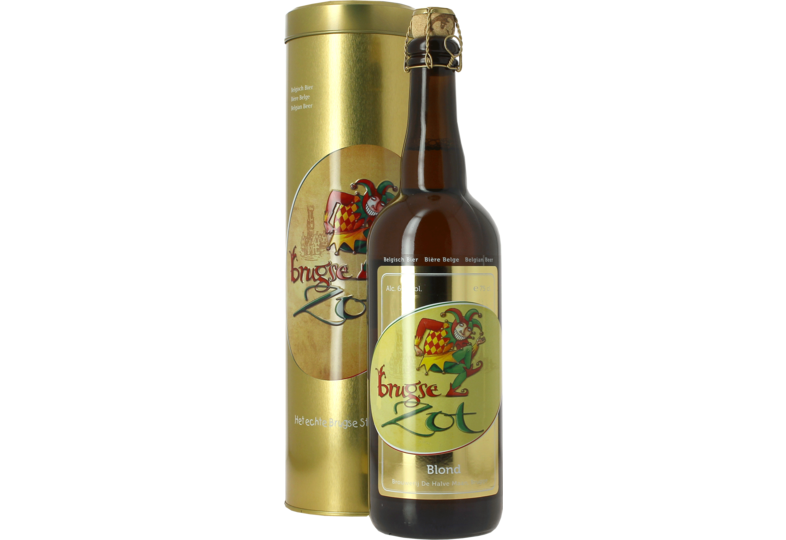Botellas - Tube Métal Brugse Zot 75cl