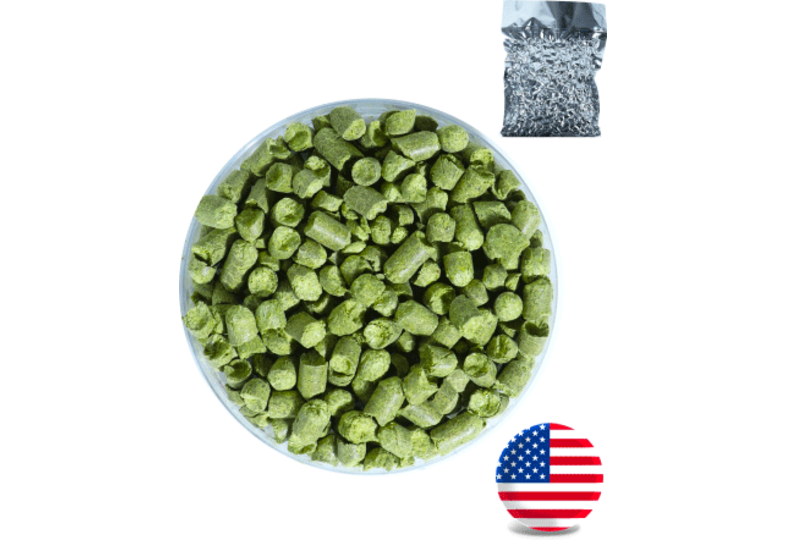 Houblons - Houblon Cascade USA en pellets - Récolte 2019