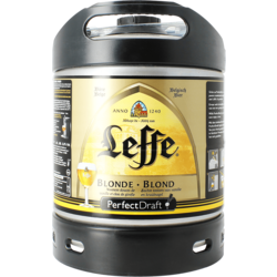 Fûts de bière - Fût 6L Leffe blonde