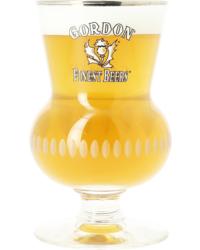 Beer glasses - glass Gordon Finest Beers - 33cl