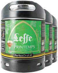 Kegs - Pack 3 fûts 6L Leffe de Printemps
