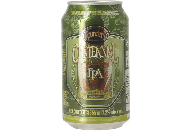 Bottled beer - Founders Centennial IPA - Now in a Can!