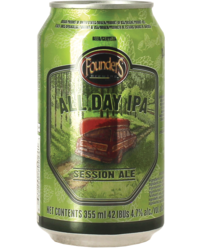 Bottled beer - Founders All Day IPA Now in a can