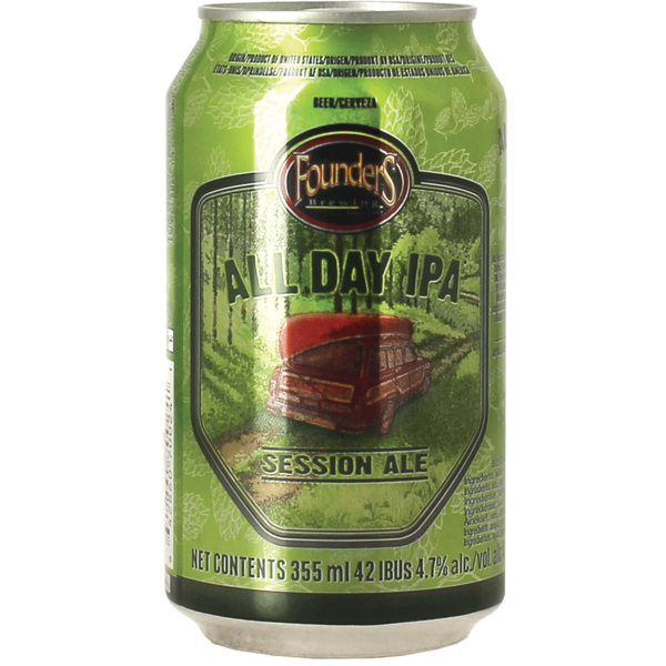 Founders All Day IPA Now in a can