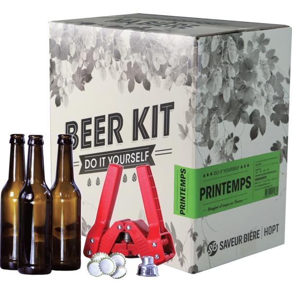 Beer Kit complet, je brasse une bière de printemps