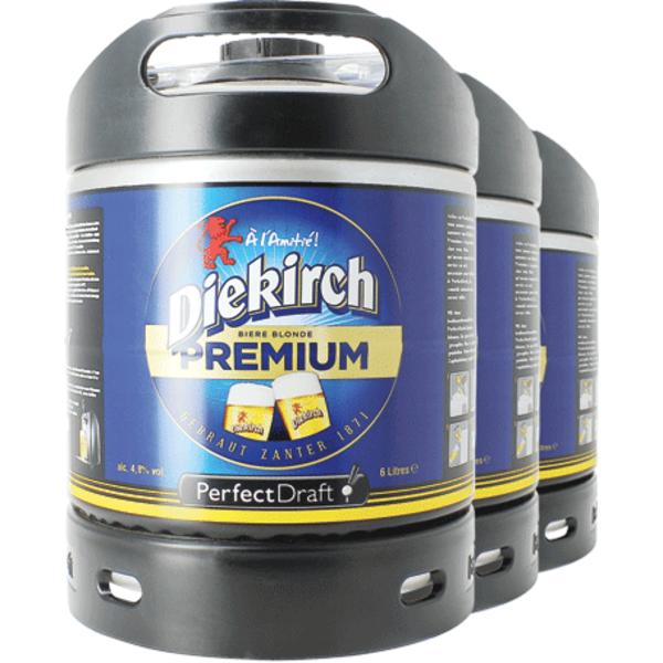 Pack 3 tapvaatjes 6L Diekirch Premium