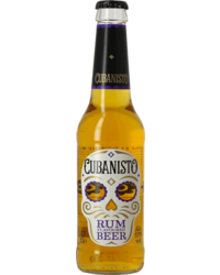 Bottled beer - Cubanisto Rum-Flavoured beer