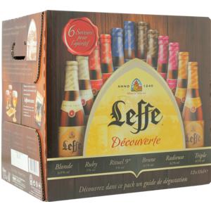 Leffe Découverte Assortment - 12 x 33cl