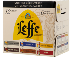 GIFTS - Leffe Découverte Assortment - 12 x 33cl