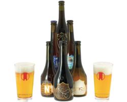 """Regalos y accesorios - Colección """"Birra del Borgo"""" - 6 cervezas y 2 vasos"""