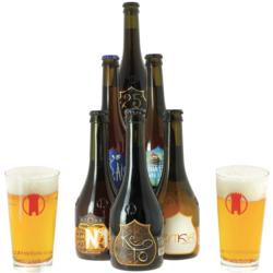 Accessoires et cadeaux - Pack Birra Del Borgo 6 bières et 2 verres
