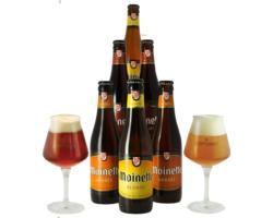Gåvor - Pack Moinette 6 bières et 2 verres