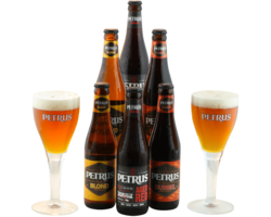 GIFTS - Petrus Gift Pack Collection - 6 Beers & 2 Glasses