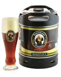 Fûts de bière - Fût 6L Franziskaner Royal + verre 50 cl