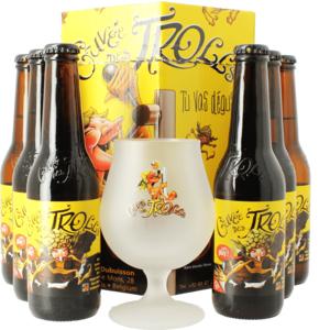Coffret Cuvée des Trolls (6 bières 1 verre)