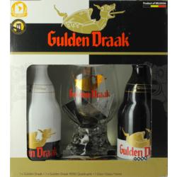 Coffrets et cadeaux - Coffret Gulden Draak (2 bières 1 verre)