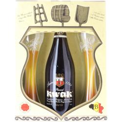 Coffrets et cadeaux - Coffret Kwak 1*75cl + 2 verres plats