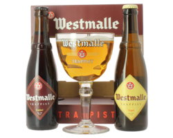 Coffrets et cadeaux - Coffret Westmalle (2 bières 1 verre)