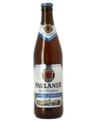 Bouteilles - Paulaner Hefe-Weissbier sans alcool - 50cL