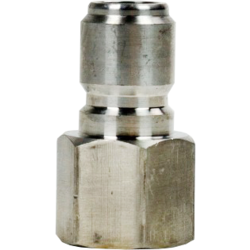 """Brewing Accessories - Male Stainless Quick Disconnect x Female 1/2"""" NTP"""
