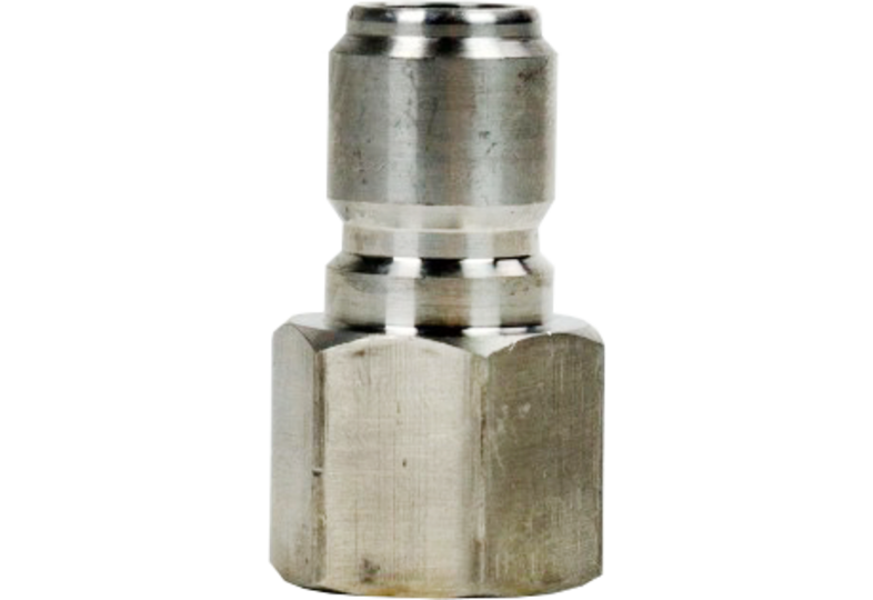 "Brewing Accessories - Male Stainless Quick Disconnect x Female 1/2"" NTP"