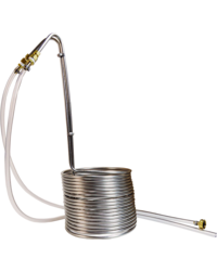 Accessori per la birrificazione - Silver Serpent 50 feet Stainless Steel Wort Chiller