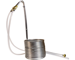 Brewing Accessories - Silver Serpent 50 feet Stainless Steel Wort Chiller