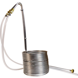 Accessoires du brasseur - Refroidisseur à moût Silver 50 L
