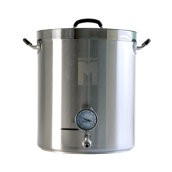 Brewer s accessories - 20 Gal MegaPot 1.2 w/ ball valve an thermomoter