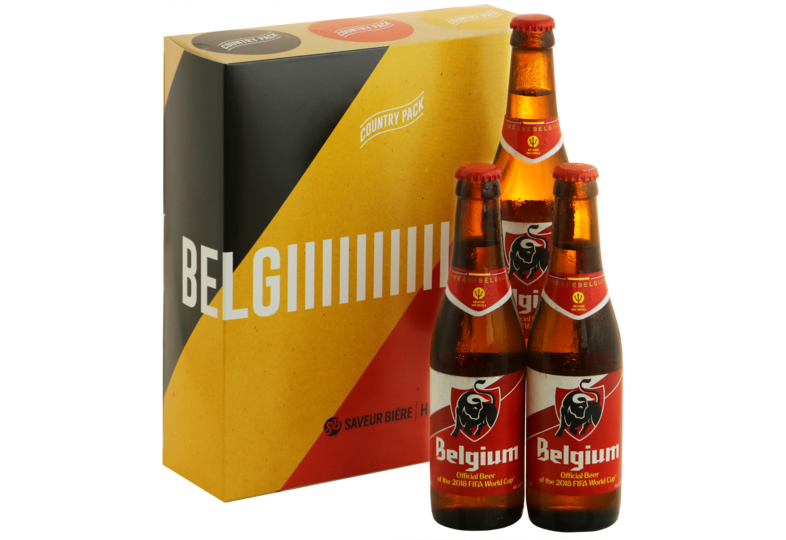 Gift Box - World Cup Country Pack Belgio - 3 Jupiler Pils